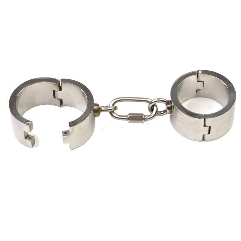 Rapture Stainless Steel Wrist Cuffs
