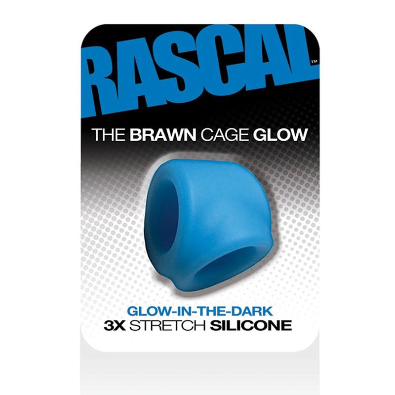 Rascal The Brawn Cage  Glow Blue