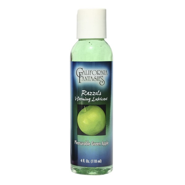 Razzels Warming Lubricant Pleasurable Green Apple 4 fl oz