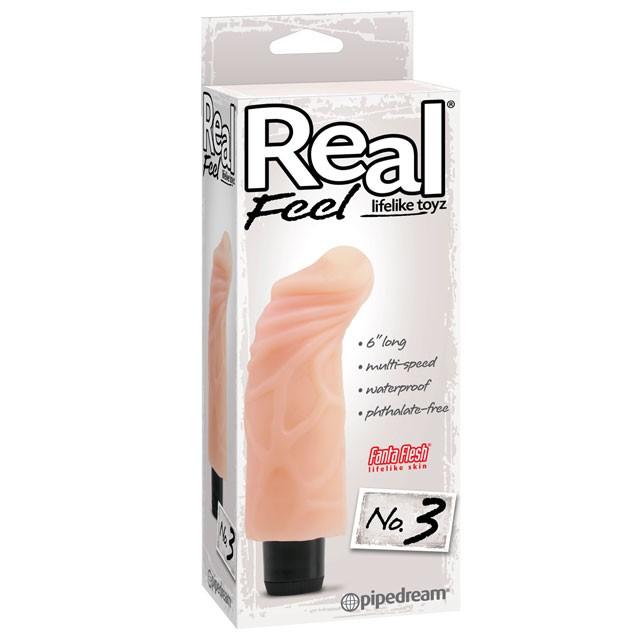 Real Feel Lifelike Toyz No. 3 Flesh