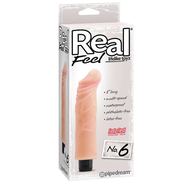 Real Feel Lifelike Toyz No. 6 Flesh