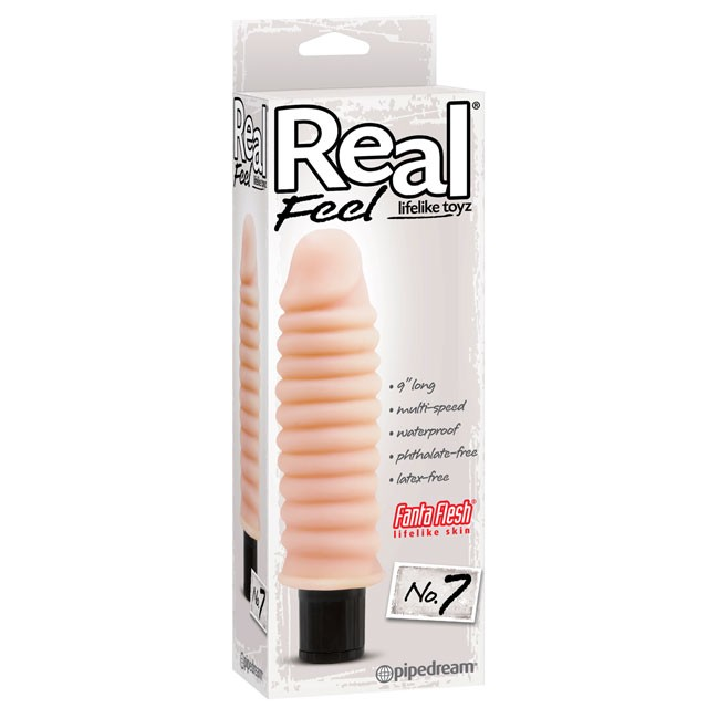 Real Feel Lifelike Toyz No. 7 Flesh