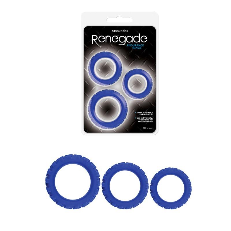 Renegade Endurance Rings (3) Blue