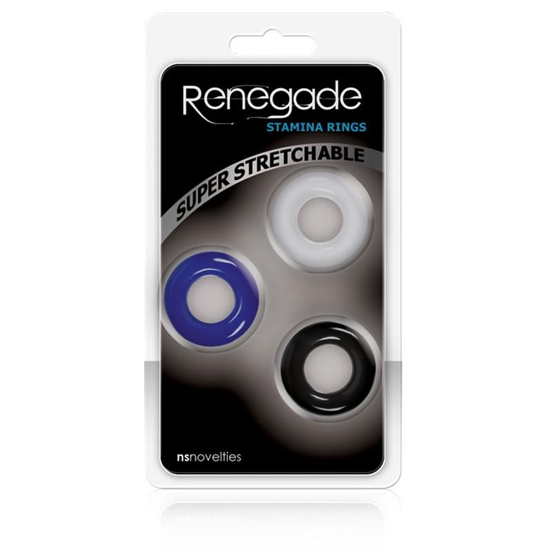 Renegade Stamina Rings Set of 3