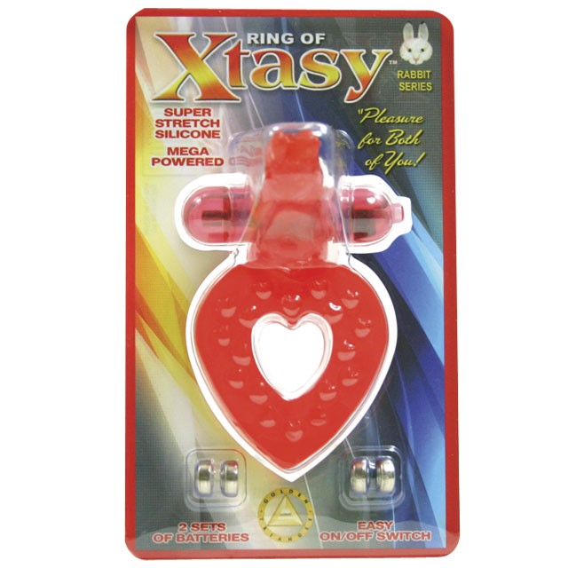 Ring of Xtasy (Rabbit Heart Red)
