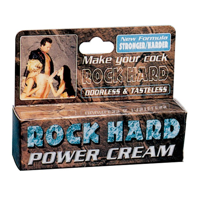 Rock Hard Power Cream 0.5oz.