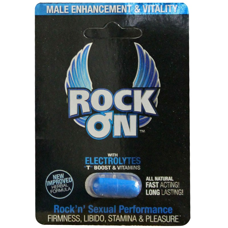 Rock On 1pk Pill for Him