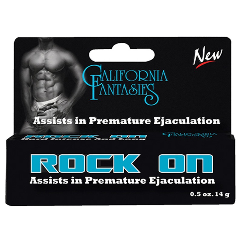 Rock On Ejaculation Control for Men .5oz Tube Boxed