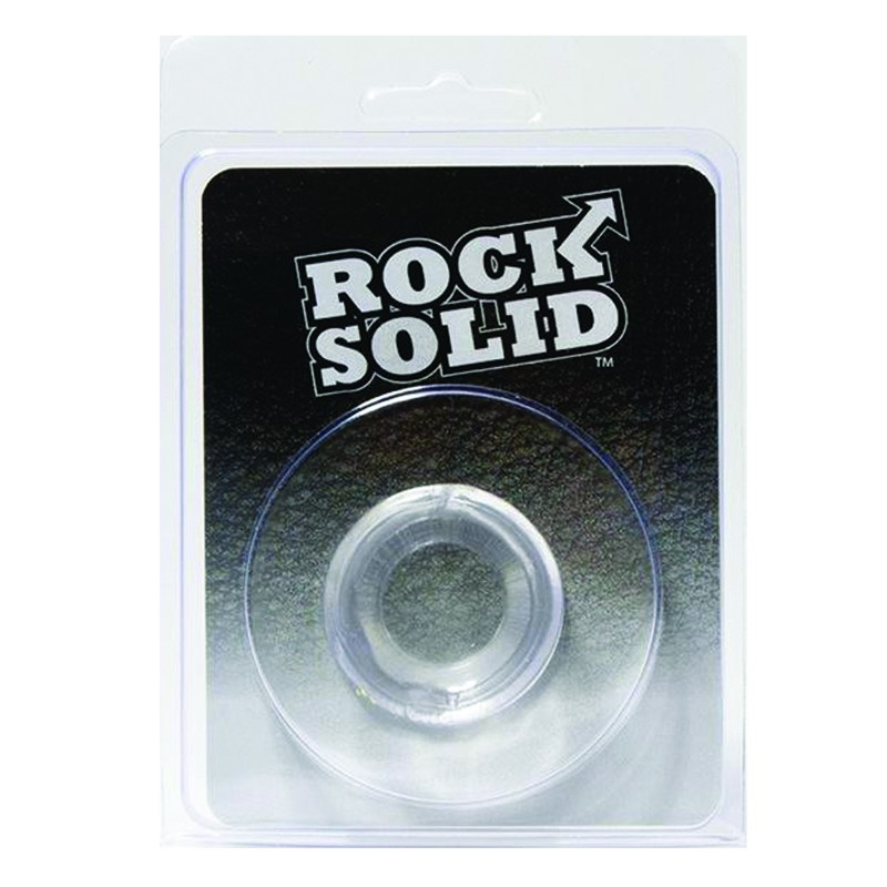 Rock Solid Convex Clear C Ring in a Clamshell