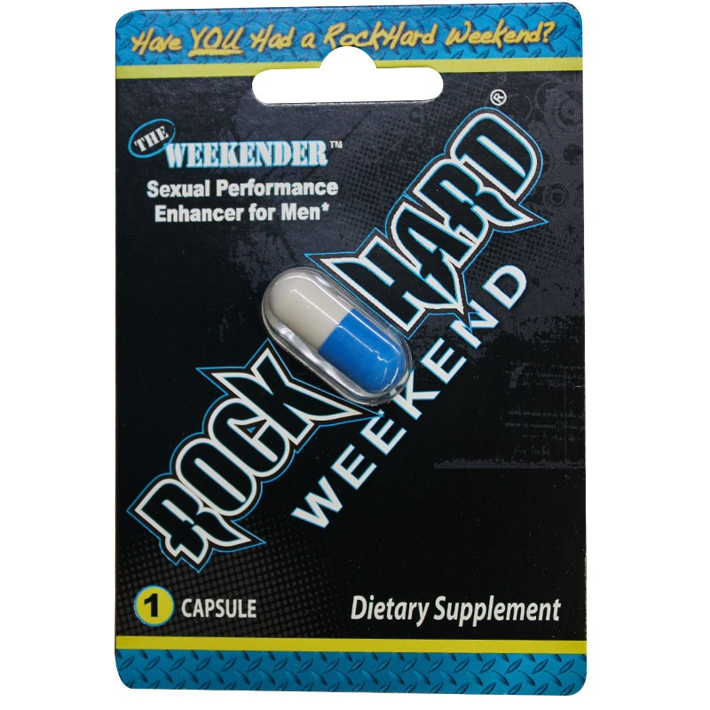 RockHard Weekend Blister 1pk (Open Stock)
