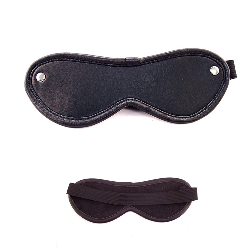 Rouge Blindfold Eye Mask Black