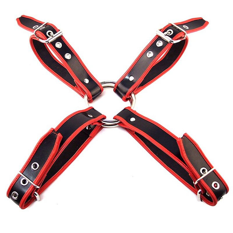 Rouge Chest Harness Black w/Red XL