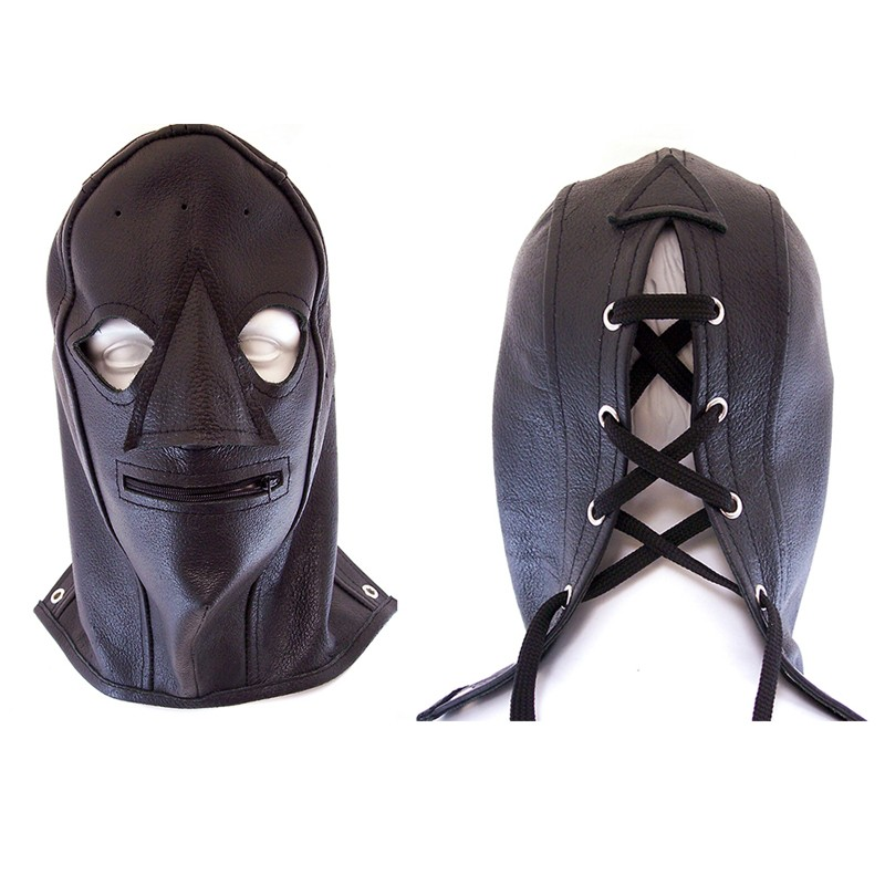 Rouge Zip Mask Black