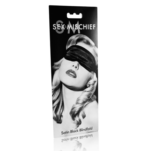 Satin Blindfold (Black)