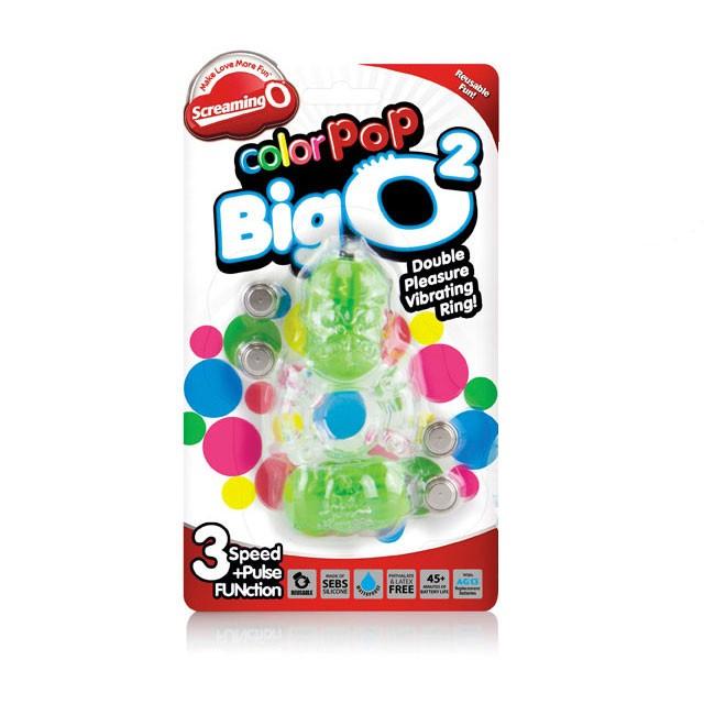 Screaming O Color Pop Big O2 Green