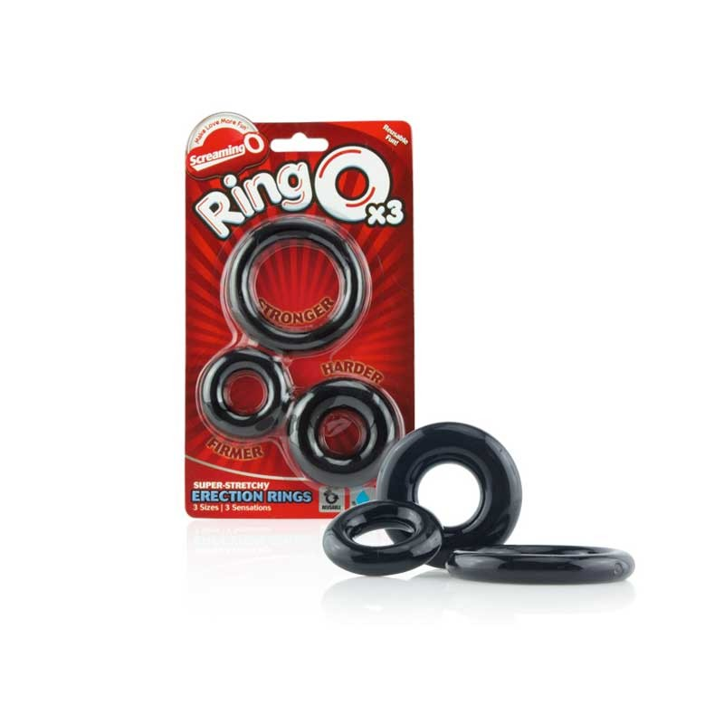 Screaming O RingO 3-Pack  of Asst Sizes (Box of 6)