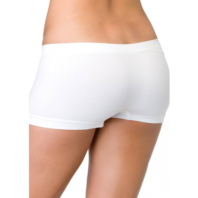Seamless Boyshorts O/S White