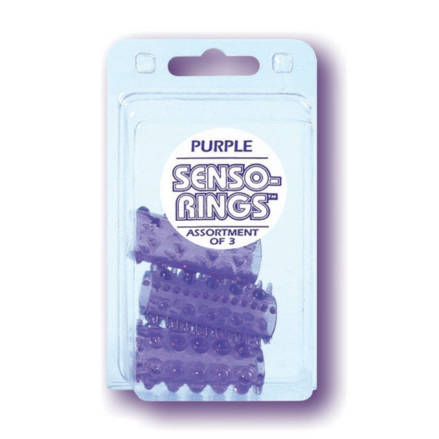 Senso Rings - 3 Pack Purple