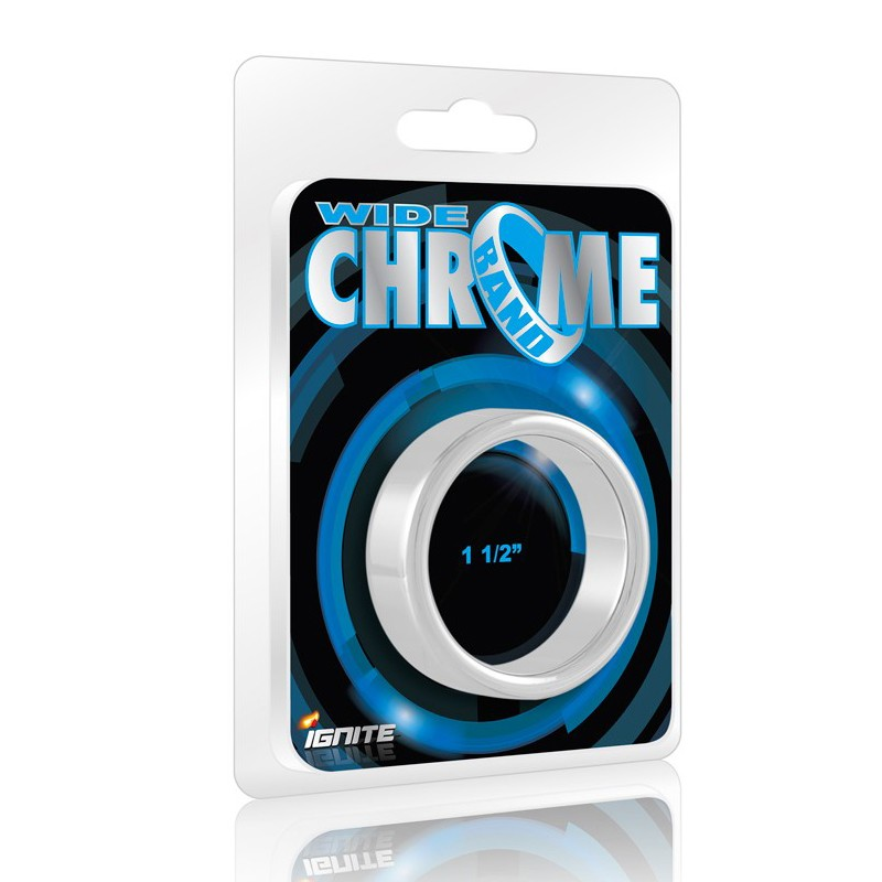 SI Chrome Band, Wide (1.5In/38Mm)