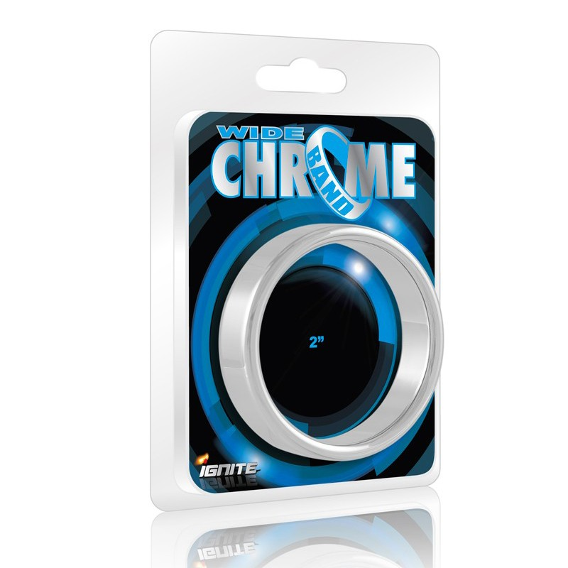 SI Chrome Band, Wide (2.0In/51Mm)