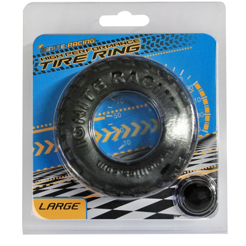 SI High Performance Tire Ring Large Black
