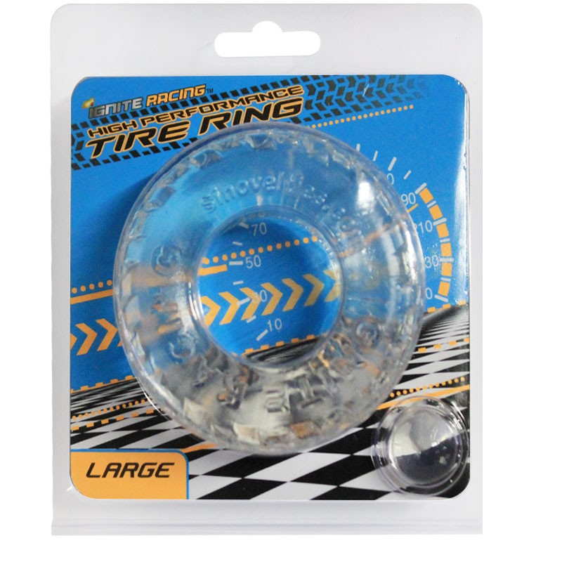 SI High Performance Tire Ring Large Smoke