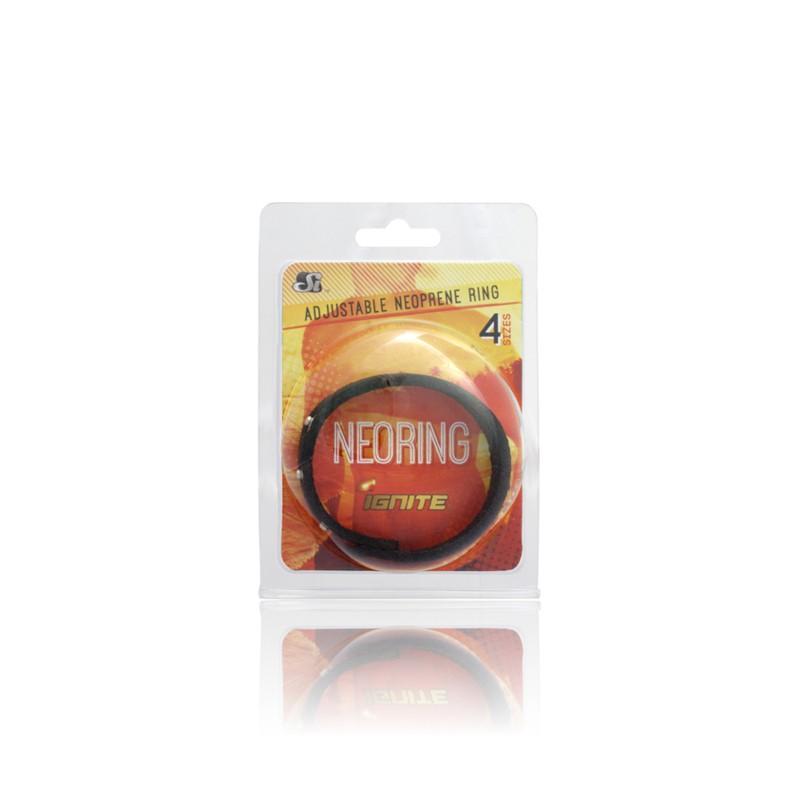SI Neoring Neoprene Ring Black