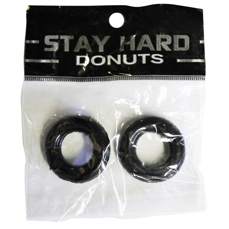 SI Power Stretch Donuts 2pk Black
