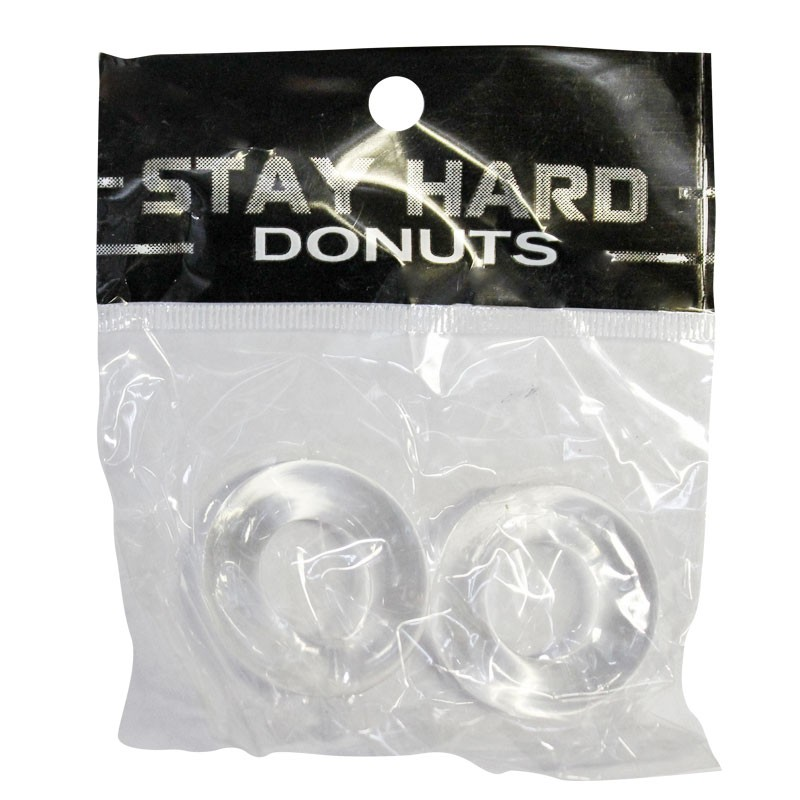 SI Power Stretch Donuts 2pk Clear