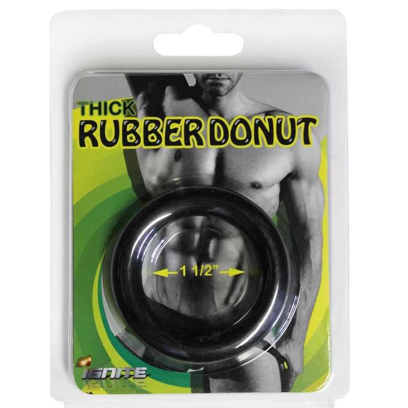 SI Thick Donut Rubber Ring 1.5in