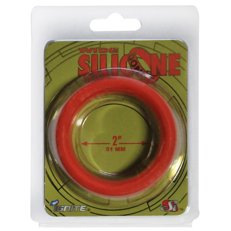 SI Wide Silicone Donut Red (2.0 In/51Mm)