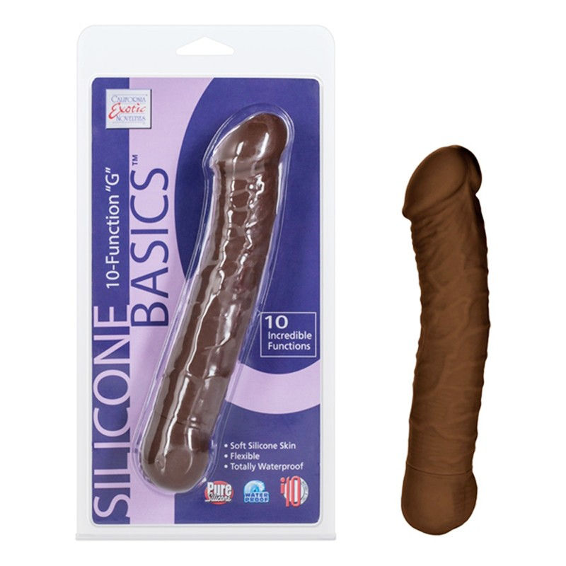 Silicone Basics 10-Function G - Brown