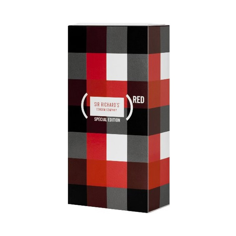 Sir Richards Red Condom 12pk