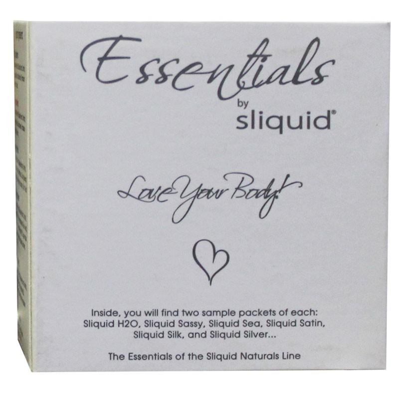 Sliquid Essentials Cube Lubricant Samples (12)