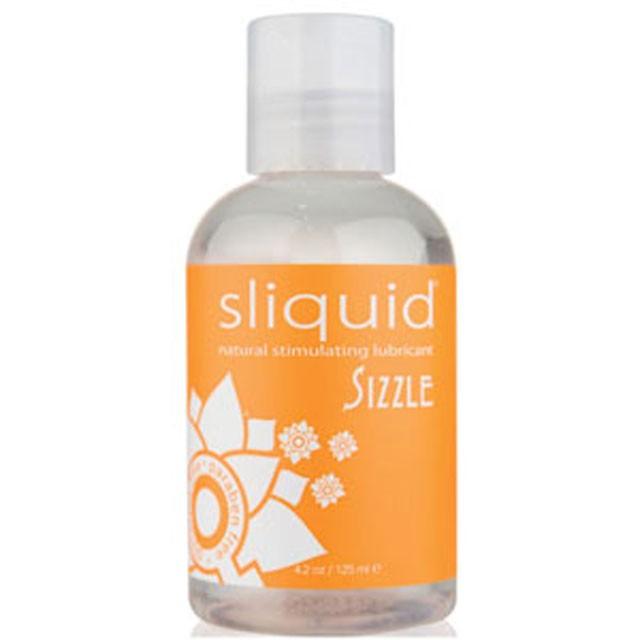 Sliquid Naturals Sizzle Warming Lubricant 4.2oz
