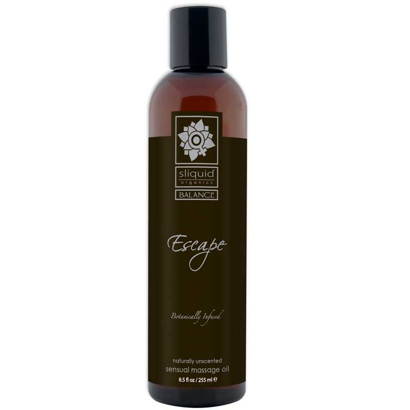Sliquid Organics Balance Massage Oil Escape (Unscented) 8.5oz