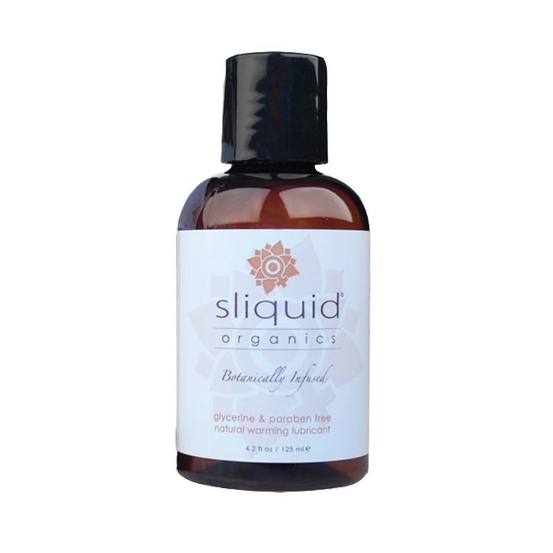 Sliquid Organics Sensation Warming Lubricant 4.2oz