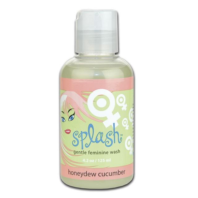 Sliquid Splash Feminine Wash Honeydew Cucumber 4.2oz