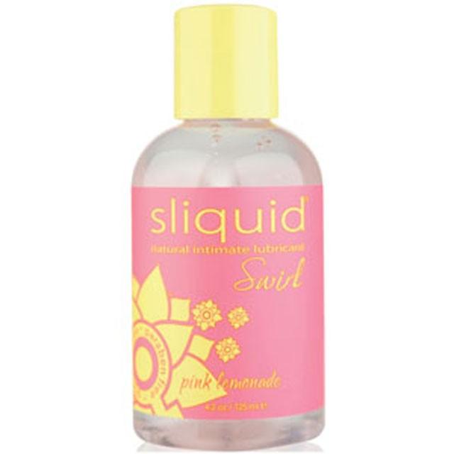 Sliquid Swirl Pina Colada Flavored Lubricant 4.2oz