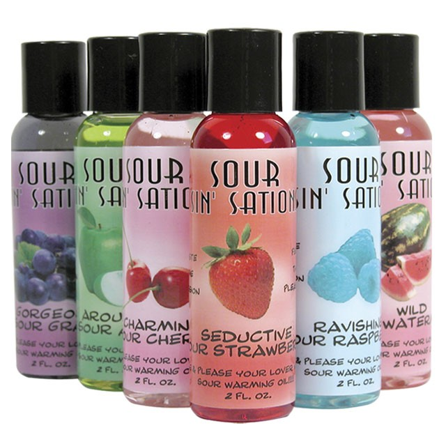 Sour Sin Sations Sour Apple 2oz.