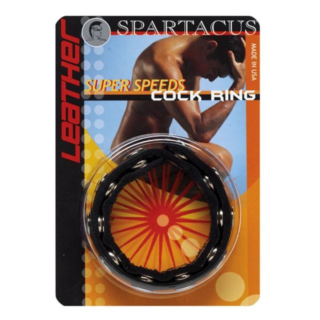Spartacus Leather Super Speeds Cock Ring