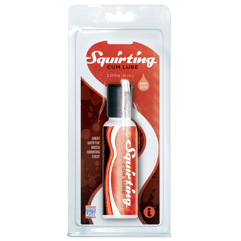 Squirting Cum Lube 2.25 fl oz in clamshell