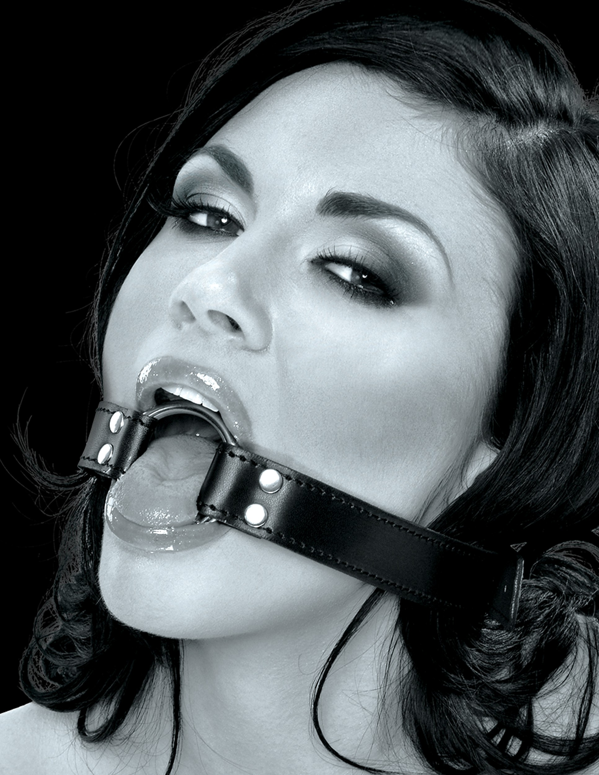 steel o-ring gag by fetish fantasy series