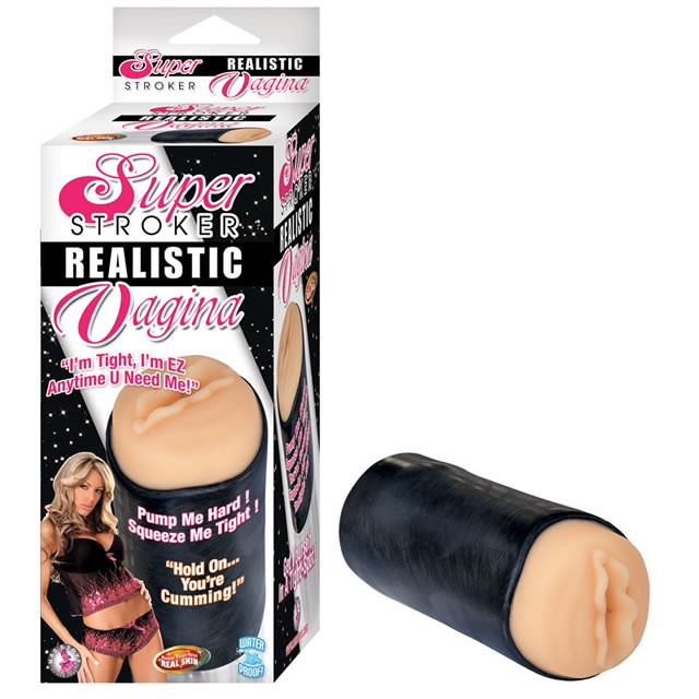 Super Stroker Realistic Vagina (Flesh)