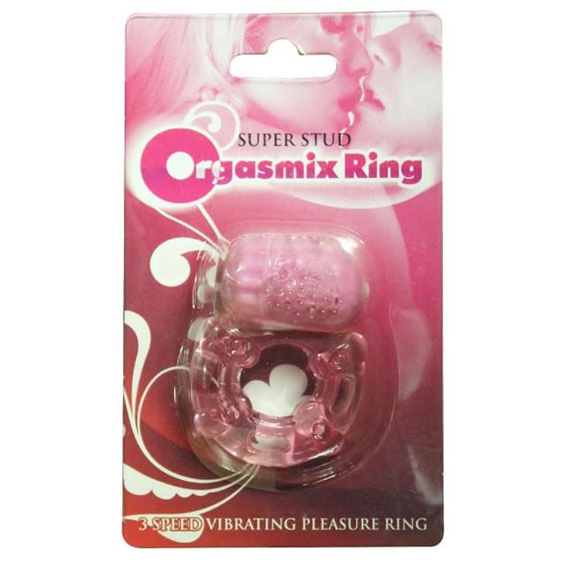 Super Stud Orgasmix Ring Magenta