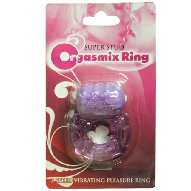 Super Stud Orgasmix Ring Purple