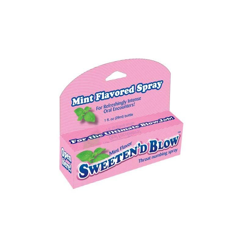 Sweeten Blow Mint Throat Spray
