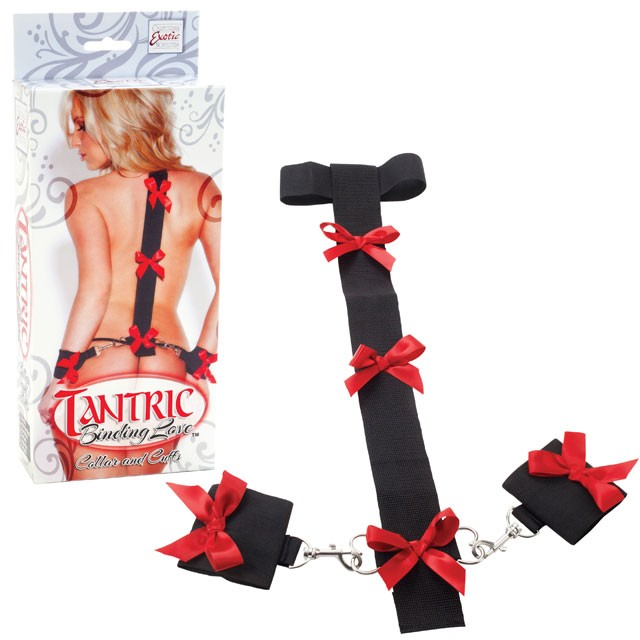 Tantric Binding Love Collar and Cuffs