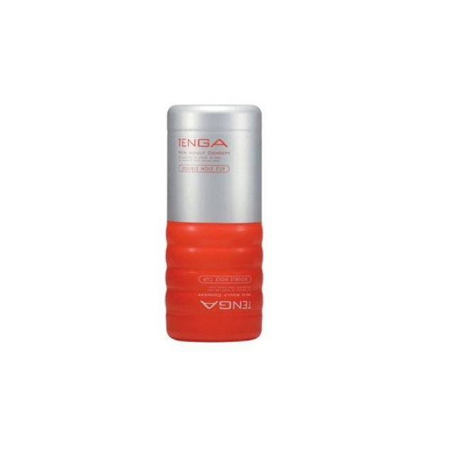 Tenga Disposable Double Hole Stroker (Red)