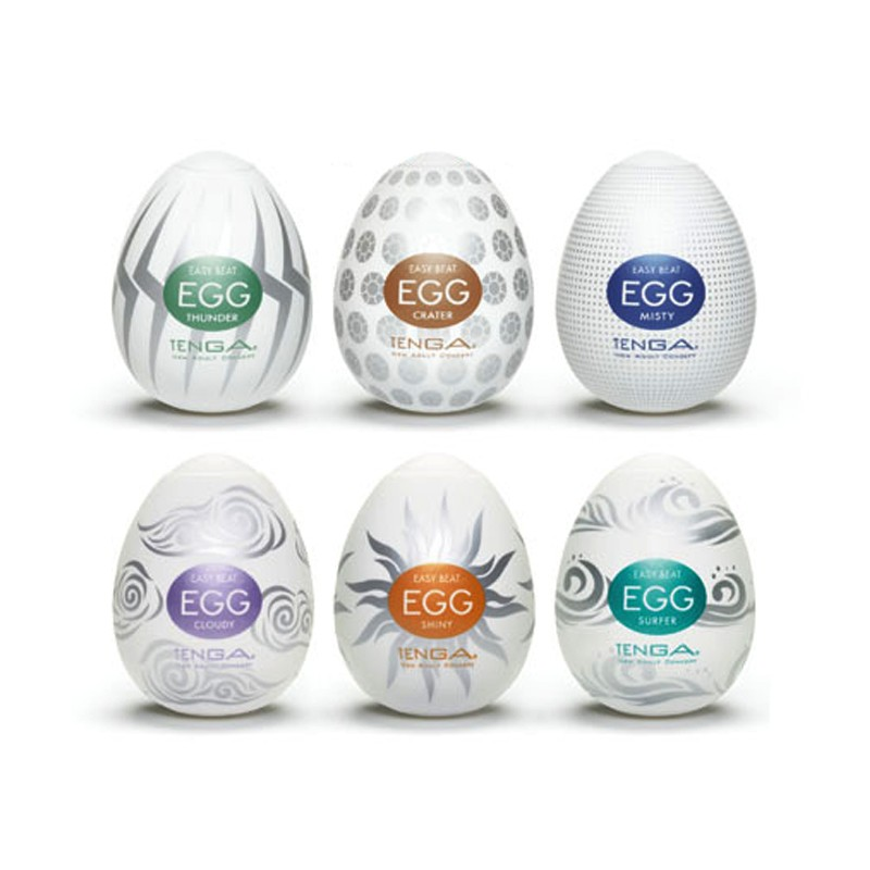 Tenga Hard Gel Variety Six Pack